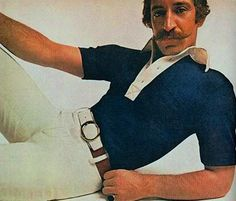 """Popular model of the 70s/80s known as """"The 'Stache"""" :/"""