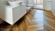 Il legno in bagno: si può posare? Intervista a parchettificio Garbellotto e Master Floor