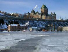 Winter scene from the ferry...: Photo by Photographer Gaetan Chevalier - photo.net
