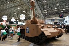 Girls und Panzer: When your cosplay game is 120%