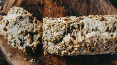 Pão de maçã e nozes #schaer