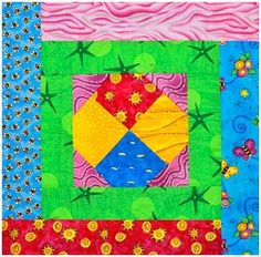 Highland Snowball Quilt Block, Part Three: Counter-Clock Block