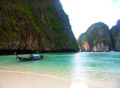 Maya Bay, the beach beach :) Thailand. Maya, Thailand, Beach, Water, Places, Travel, Outdoor, Water Water, Aqua