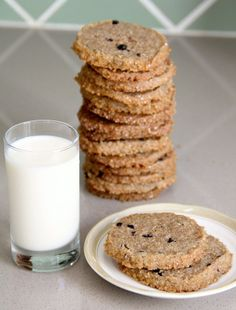 Kitchen Vignettes by Aubergine: Rye Blueberry Cookies