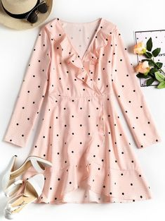 GET $50 NOW | Join Zaful: Get YOUR $50 NOW!https://m.zaful.com/plunging-neck-ruffles-polka-dot-dress-p_507892.html?seid=8ntkm6mk55cgqj1p3fotva20m5zf507892