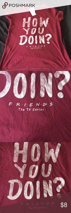 T-shirt Friends the tv series T-shirt brand new Tops Tees - Short Sleeve