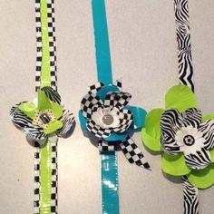 Duct tape headbands!