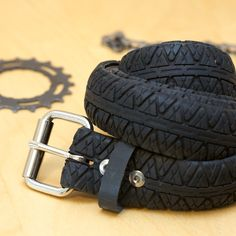 Bicycle Tire Belt - Hybrid Tread. $30.00, via Etsy.