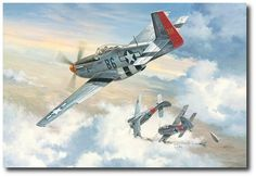 I'll Be Darned! by Roy Grinnell Mustang) Ww2 Aircraft, Fighter Aircraft, Military Aircraft, Airplane Fighter, Airplane Art, Airplane Painting, Aviation Theme, Aviation Art, Air Fighter