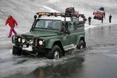 Icelandic Expedition Land Rover