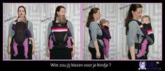 Verschil ergonomisch en niet-ergonomisch dragen