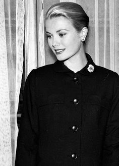 Grace Kelly ↳Her Serene Highness Princess Grace of Monaco Hollywood Icons, Hollywood Stars, Classic Hollywood, Old Hollywood, Monaco, Divas, Princesa Grace Kelly, Grace Kelly Style, Grace Kelly Fashion