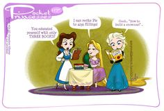 Pocket Princesses 117: Book Learnin' Please reblog, do not repost Facebook page