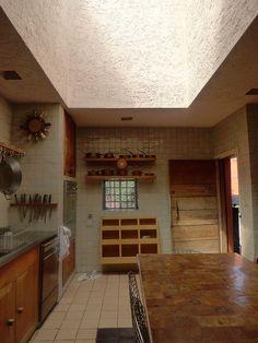 Luis Barragan's Casa Eduardo Prieto Lopez  - kitchen by pov_steve, via Flickr