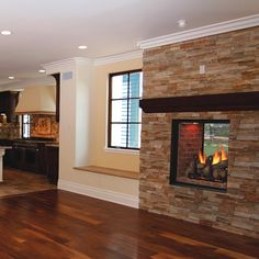 1000 Images About See Through Fireplaces On Pinterest
