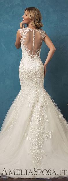 Amelia Sposa 2017 Wedding Dress --love the back!! #weddingdress #bride