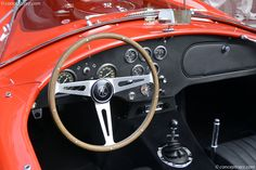 1964 SHELBY 289 AC COBRA Cockpit - ... (note: Nardi steering wheel complete line in my board Gear Up : Car/SUV/Truck)