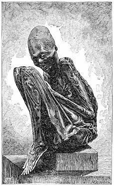 9 Foot Giant Human Mummified Skeleton Is Found Within a Pennsylvania Burial Mound         The  Stanstead Journal, Feb 3, 1921  UNEARTH SKEL...