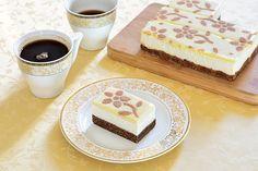 Rýchle nepečené rezy - Mňamky-Recepty.sk Tiramisu, Cheesecake, Ethnic Recipes, Food, Mascarpone, Cheese Pies, Cheesecakes, Meals, Yemek