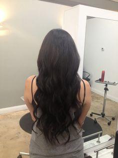 Andrea Prchal Primo Salon Studio Scottsdale, Arizona follow me on Instagram: andreaprchalhairaz #brunette #curls #hair #extensions