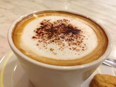 #Cappuccino for today #Coffee #Drink