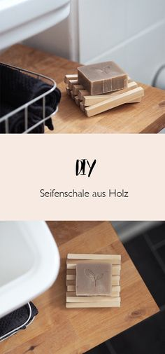 DIY Seifenschale aus Holz - - DIY Seifenschale aus Holz DIY soap dish made of wood <! Diy Soap Holder, Bathroom Soap Holder, Wooden Soap Dish, Decoration Ikea, Bois Diy, Diy Tumblr, Upcycled Home Decor, Diy Presents, Diy Pallet Furniture