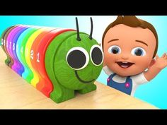 Learn Colors with Nail Art designs Colours to Kids & Wheels On The Bus Tayo Nursery rhymes songs - YouTube