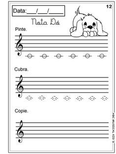 Pedagogia Musical 5 anos Music Lessons For Kids, Music For Kids, Piano Lessons, Kindergarten Music, Teaching Music, Piano Music, Sheet Music, Piano Songs For Beginners, Music Worksheets