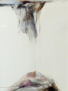 "Original Bruce Samuelson (1946 - ) Pastel Drawing 1980 Well Listed Artist 24"" x 20"" Framed Matted"