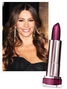 While hosting #SNL, #InStyle's April cover girl #SofiaVergara joked to the audience to keep their eyes off her chest and on her face where she wore #CoverGirl's Lip Perfection lipstick in Smitten. http://news.instyle.com/2012/04/10/sofia-vergara-lipstick-saturday-night-live/