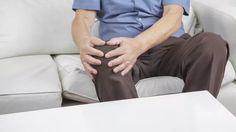 Schmerzen im Knie lindern mit Quark-Ingwer-Packungen.