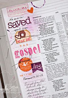Triple the Scraps: {SCRLLC14} Scripture Lesson #19, Something in the Water by Patter Cross
