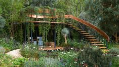 The Winton Beauty of Mathematics Garden at RHS Chelsea Flower Show