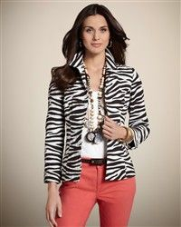 I absolutely LOVE this look and I LOVE, LOVE  Chicos! It brings out my inner fashionista!