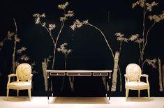 de Gournay: Nos collections - Papier peints et tissus de soies peint a la main - Collection Japonaise y Coréenne |