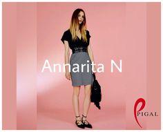 Refresh a classic! Abito quadri vichy Annarita N #annaritan #casual #blackandwhite #dress #style #pigal #pigalboutique #outfitoftheday #glamour #italy #moda #woman #abbigliamento #fashion #wedding