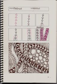 New tangle pattern Fohbraid