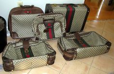 pack your bags! Luggage Sets, Travel Luggage, Concept Art Gallery, Pack Your Bags, Vintage Gucci, Spring Break, Travel Style, Suitcase, Handbags