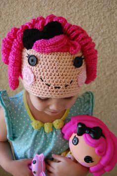 La La Loopsy Inspired Beanie Hat. $35.00, via Etsy.