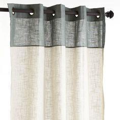 """Blythe Colorblock Curtain - Sage 84"""""""