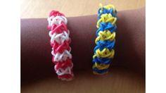 Tuto bracelet double X // http://www.deco.fr/loisirs-creatifs/photos-74611/