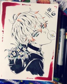 Mystic Messenger- Choi Saeran (Unknown) #Otome #Game #Anime. Susanghan Messenger