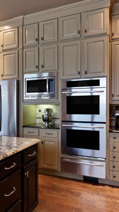 Amazing cabinetry and wall ovens.  Designer Teri Turan. houzz.com