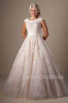 Find More Wedding Dresses Information about Enchanting 2015 Modest Wedding Dresses Capped Sleeves Lace Applique Throughout Tulle Beads Customized Dress Bride Satin Band,High Quality dress gala,China satin christening dress Suppliers, Cheap dress singlet from Ice-Beauty-Dresses on Aliexpress.com