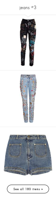 """jeans #3"" by iriskatarina ❤ liked on Polyvore featuring jeans, pants, bottoms, calça, black, side pocket jeans, back pocket jeans, skinny leg jeans, dolce gabbana jeans and button front jeans"