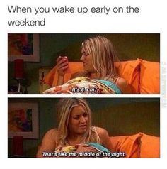 Waking Up On Weekends