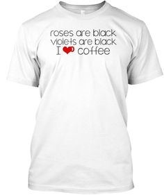 """Limited Edition """"I love Coffee T-Shirt""""Available for Men and Women, Get yours now. Only 14 days more to go.Click below to choose your size and favourite color."""