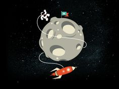 Dribbble - Moon by Viet Huynh