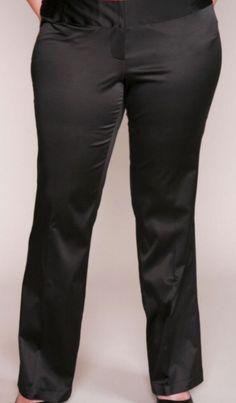 APT 9 MAXWELL SATEEN PANTS - BLACK - PLUS SIZE 24 WOMAN  | eBay