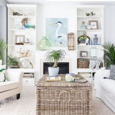 56 Relaxing Small Living Room Decor Ideas With Fireplace Living Room Decoration coastal living room decor Coastal Living Rooms, Small Living Rooms, Living Room Designs, Living Room Decor Fireplace, Living Room Furniture, Fireplace Ideas, Furniture Stores, Furniture Nyc, Office Furniture